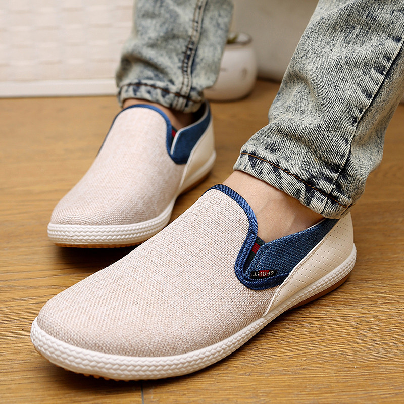 Off White Slip Ons Casual Shoes for Men