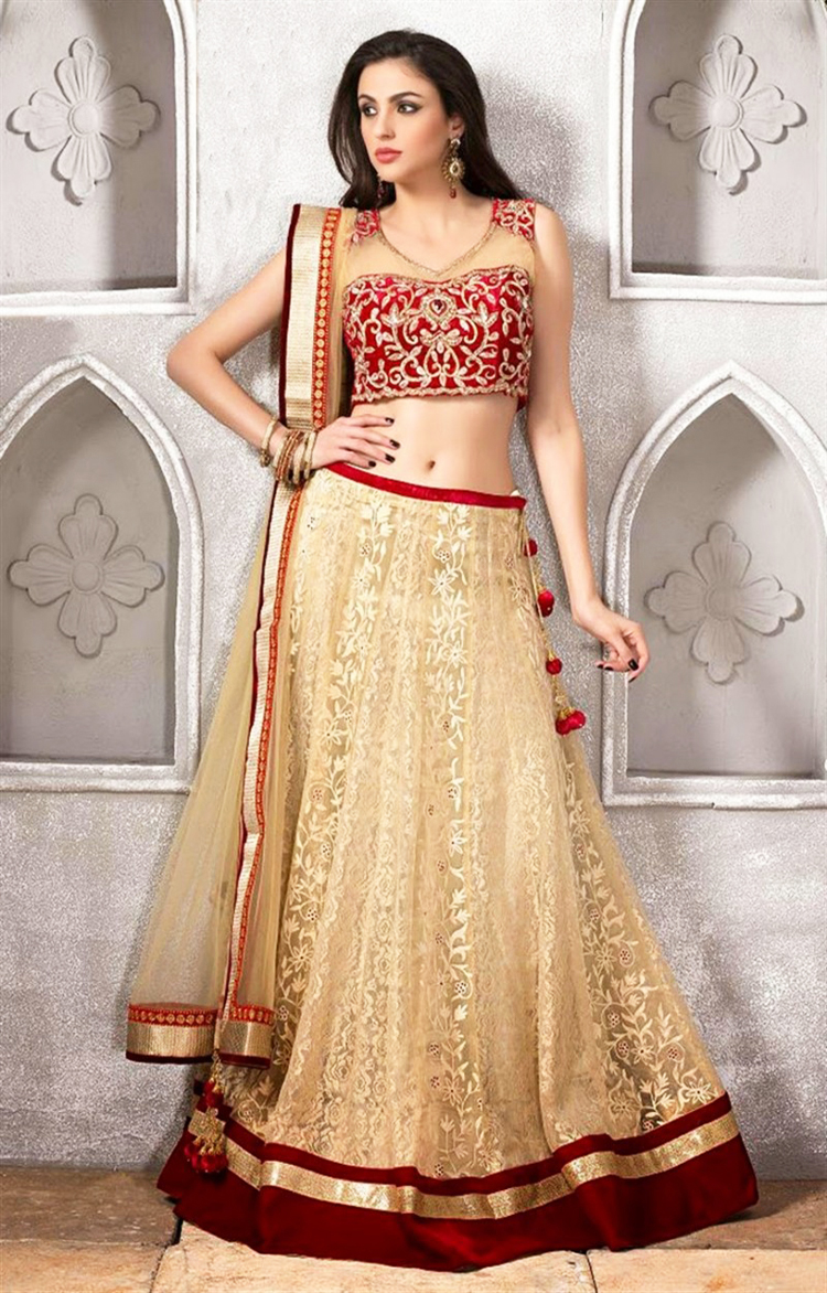 New Barat Dresses Designs For Wedding Brides 2016-2017