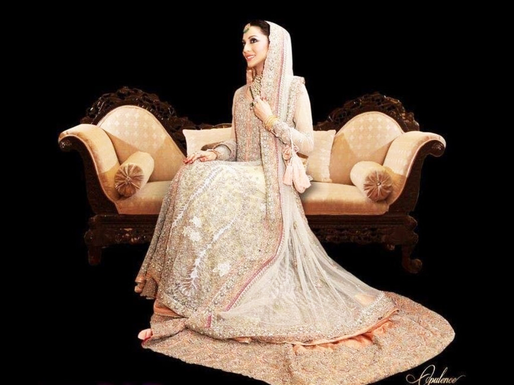 Long Frock With Lehnga Walima Dress Collection