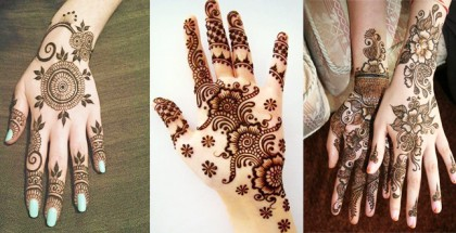 Latest Mehndi Designs Collection For Eid Ul Azha