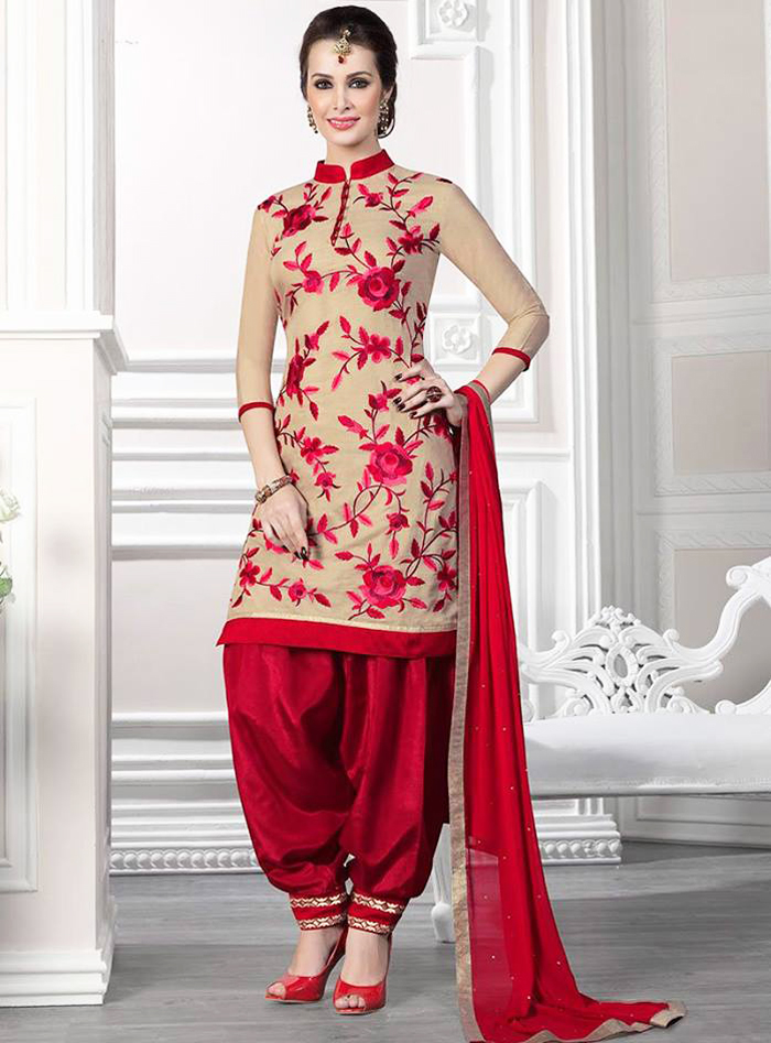 Designer Patiala Salwar Suits Online