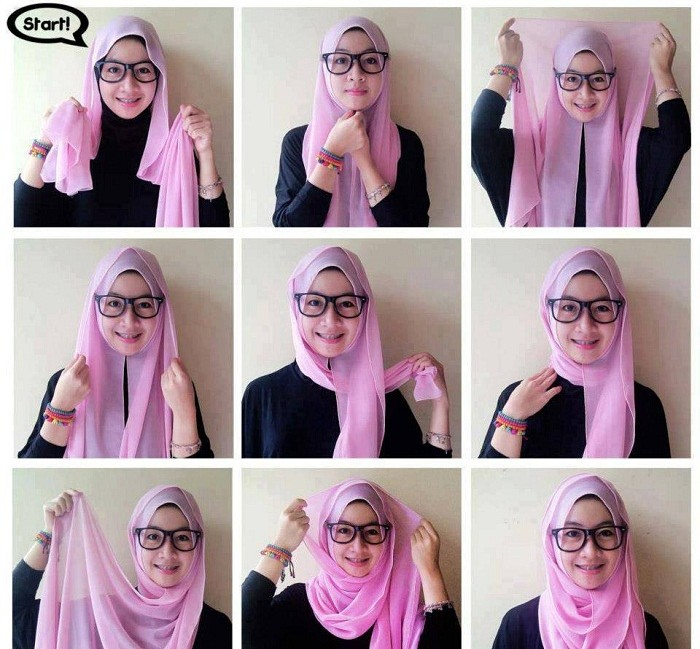 Best Hijab Styles & Designs for Different Face Shapes | BestStylo.com