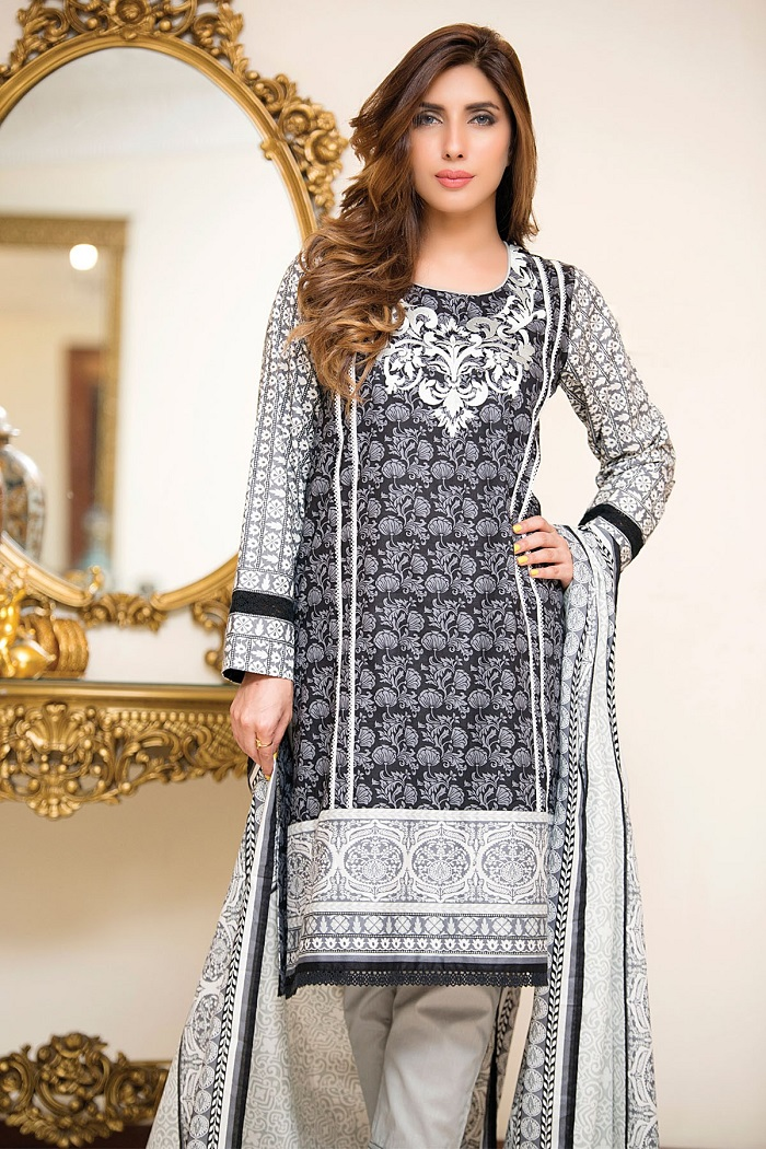 Bonanza Satrangi Cambric Winter Collection 2016