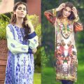 Colorful Fall Winter Silk Dresses Collection By So Kamal