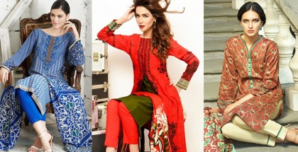 Gul Ahmed Silk Merino and Khaddar Collection for Winters