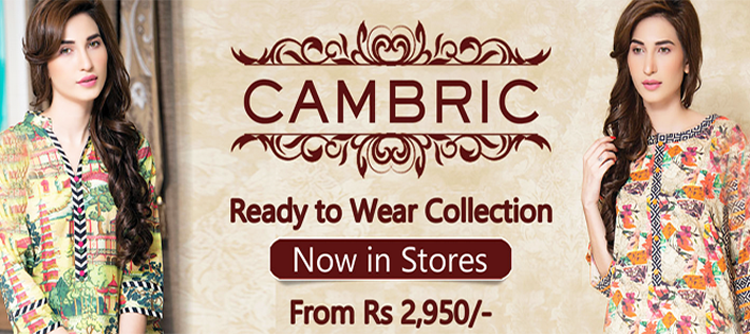 Mausummery Cambric Ready to Wear Winter Collection for Women