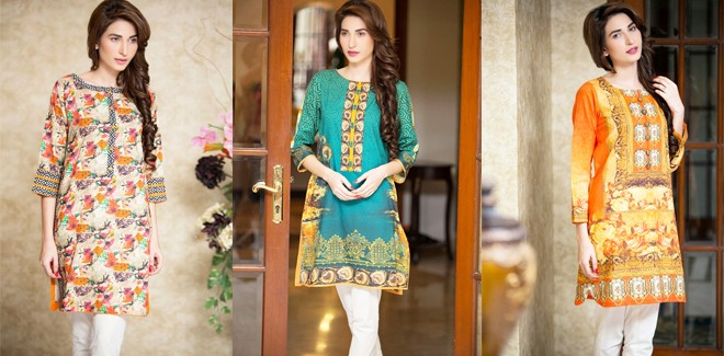 Mausummery Cambric Ready to Wear Winter Collection 2017