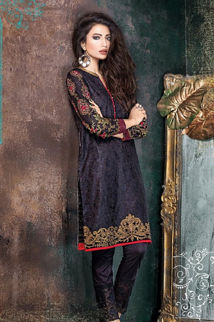 Black Festive Ethnic outfitters