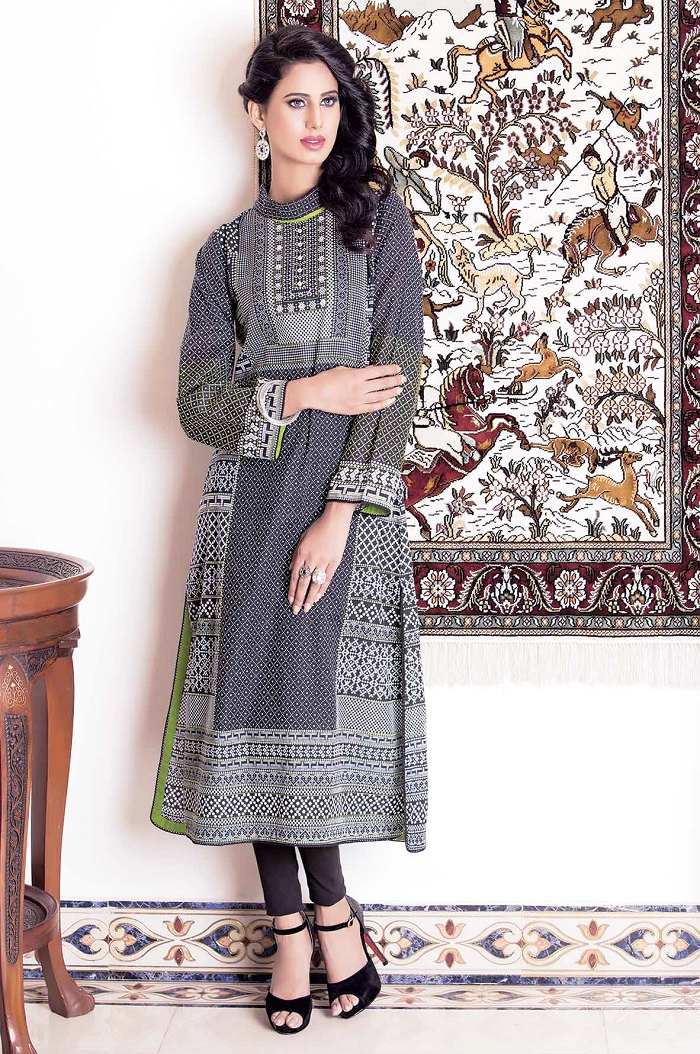 Kayseria Beautiful casual wear attire for Winter