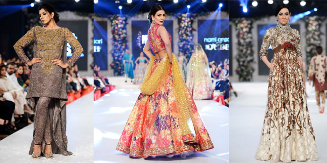 PFDC L'Oreal Paris Bridal Week 2015-2016 Wedding Dresses By Top Designers