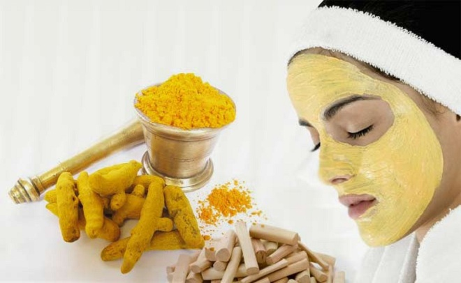 Beauty secrets by grandma turmeric face mask for clear skin