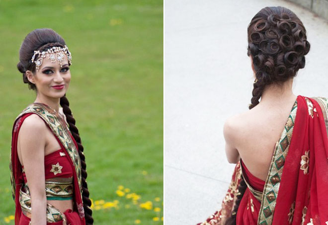 best indian wedding hairstyles for brides 20162017
