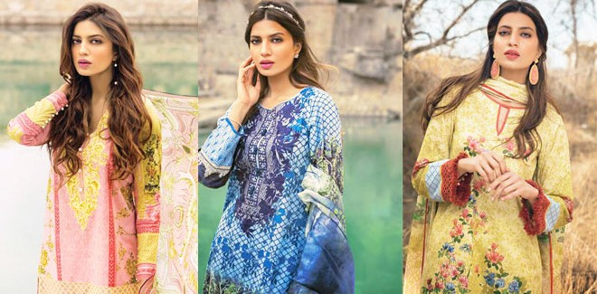 Sapphire Lawn 2017 Unstitched Collection With Prices