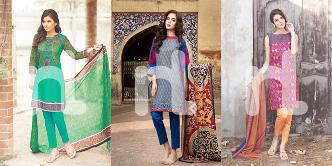 New Nisha By Nishat Linen Summer Collection 2016