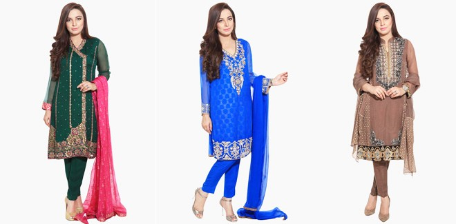 Bareeze New Fancy Embroidered Eid Collection 2016