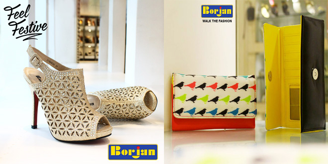 Borjan Shoes New Eid Footwear and Handbag Collection 2016