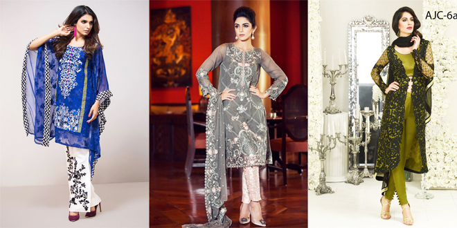 Latest Designs Of Pakistani Dresses For Eid 2016-2017