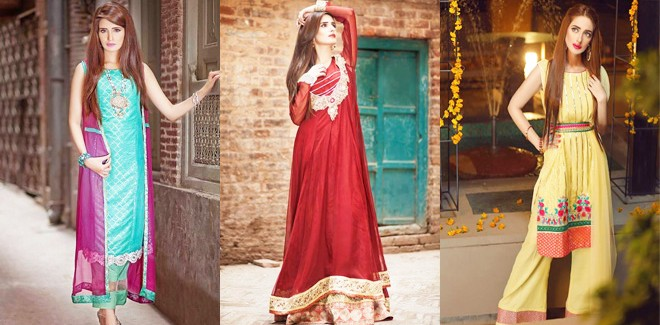 Zahra Ahmad Latest Eid Dresses Collection 2016-2017