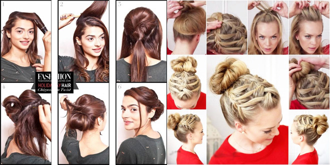 Easy Hairstyles For Eid Step By Step Tutorials