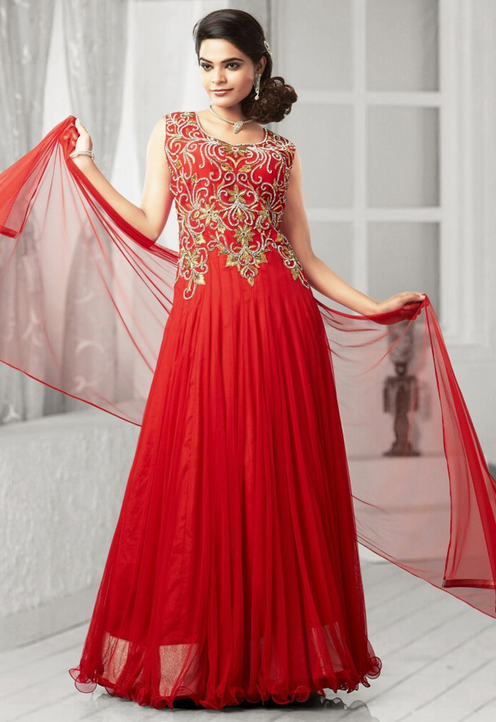 Latest Pakistani Party Dresses and Frock Designs 2017 | BestStylo.com