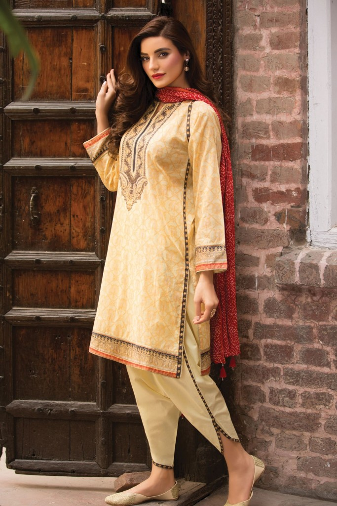 Kayseria Eid Wear Dress 2017 with Tulip Trouser