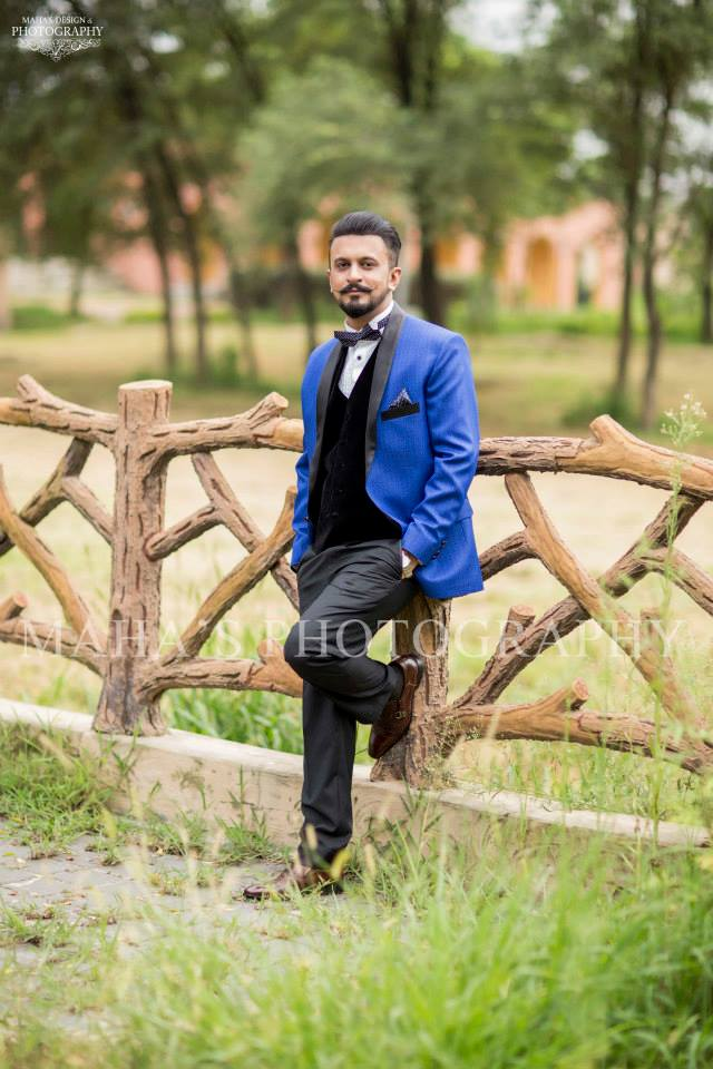 Pakistani Chic Groom Wedding Suit