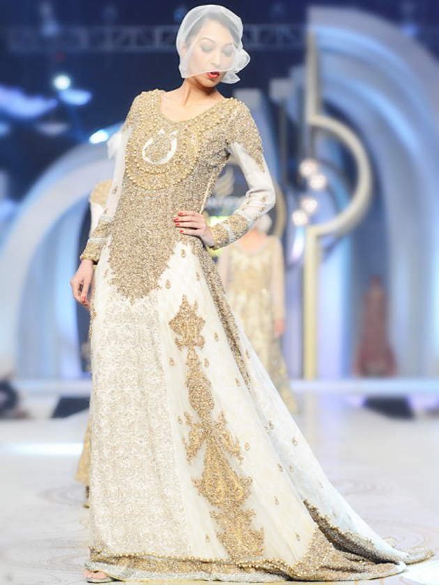 Latest HSY Longtail Bridal Maxi for Wediing