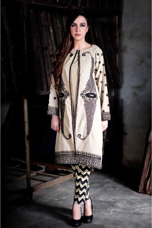latest evening party wear winter dress for girls