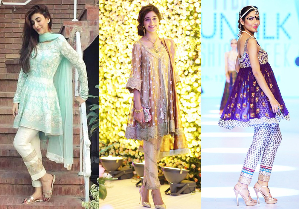 latest-designs-pakistani-fashion-short-frocks-with-capris