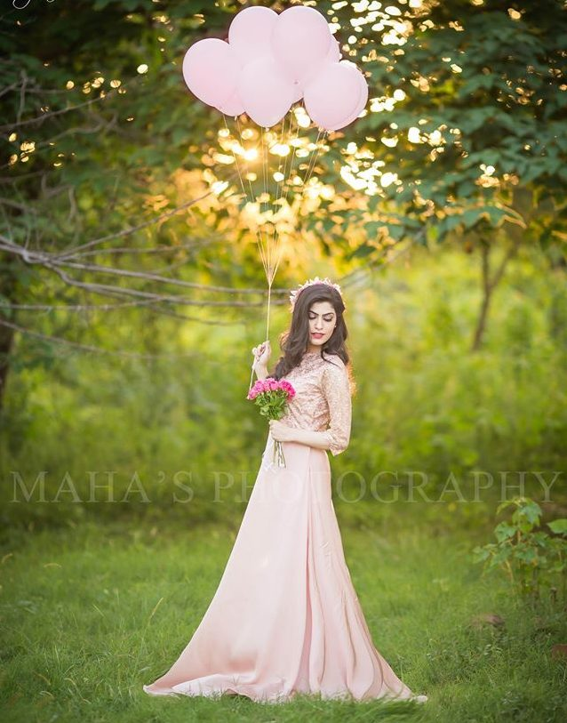 baby pink silk maxi with upper body and wide bottom
