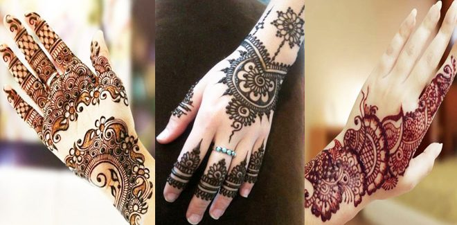 Amazing Hand Mehndi Designs Gallery 2017 Latest Collection