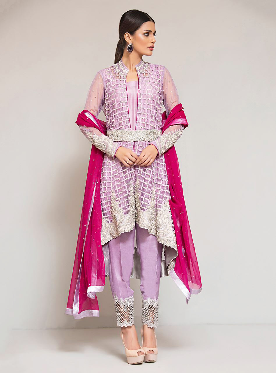 zainab chottani's Mauve dress from ready to wear formal collection