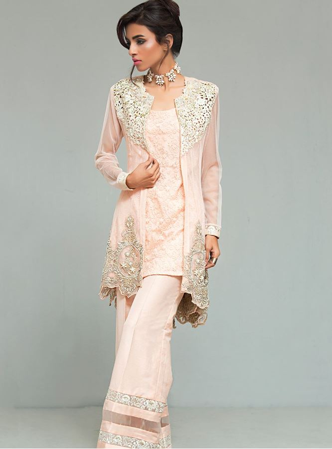 Pastel colored Formal ready to wear by zainab chottani