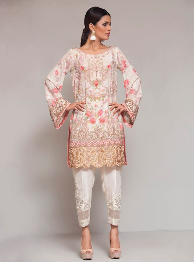 Beautiful Pink Formal dress by zainab chottani