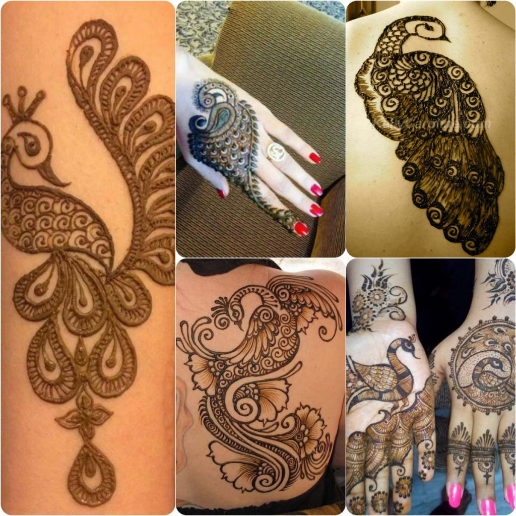 Latest Peacock Mehndi Designs And Ideas 2017  BestStylo