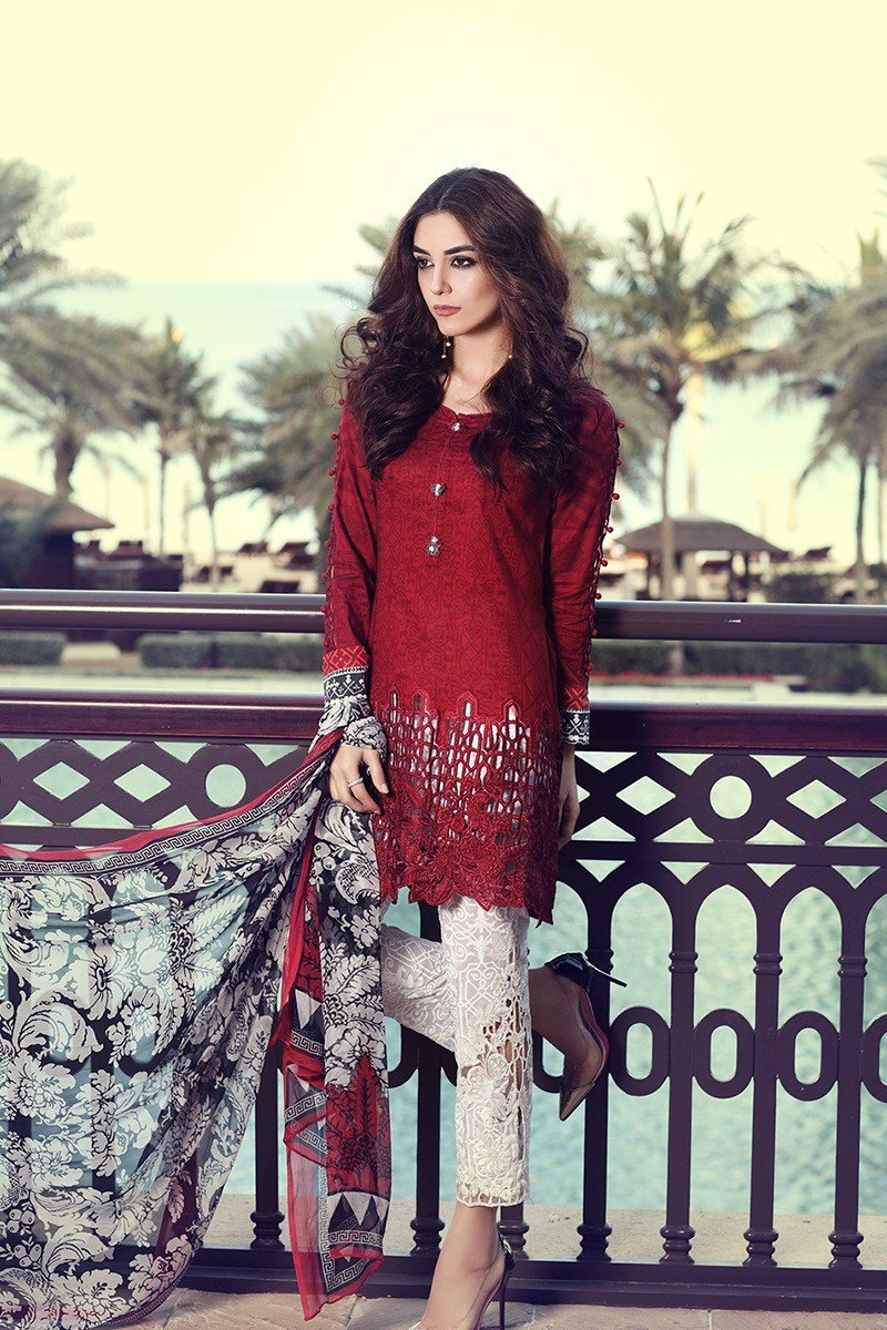 Warda spring summer collection 2016 vol 1 with prices beststylo com - Pkr 6250