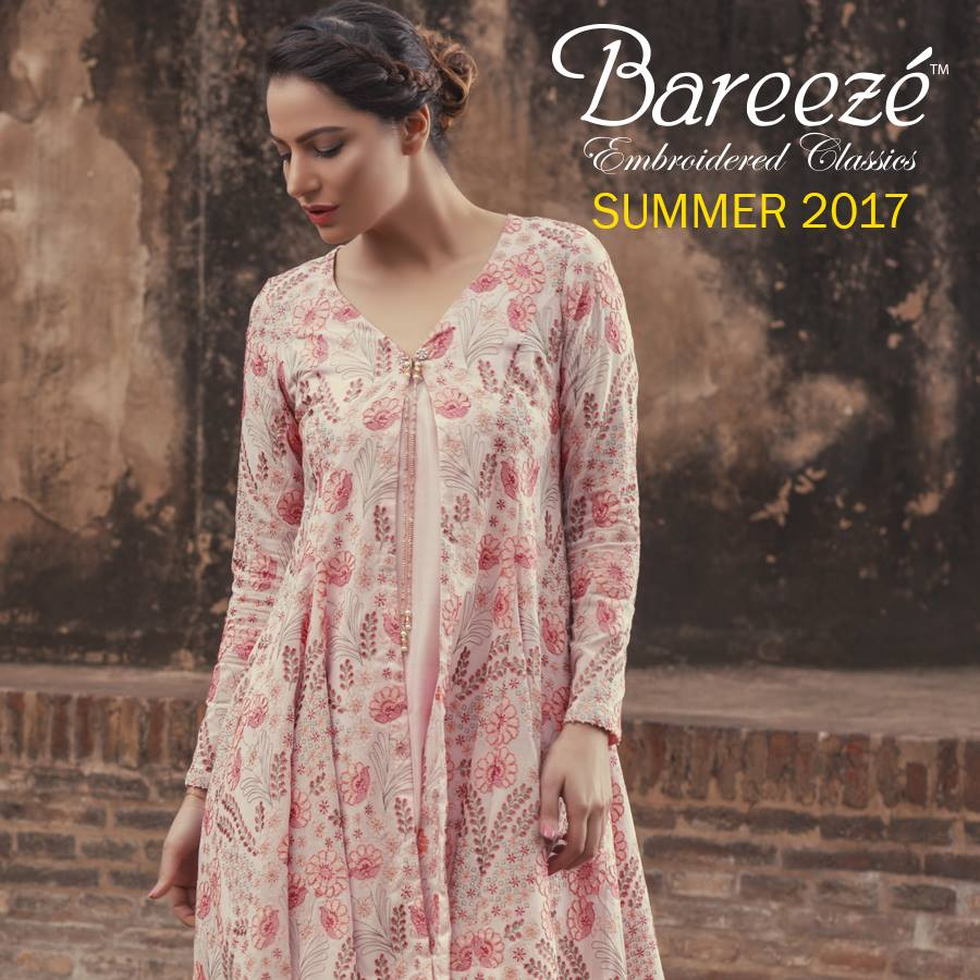 Floral Bareeze Embroiderd Collection 2017