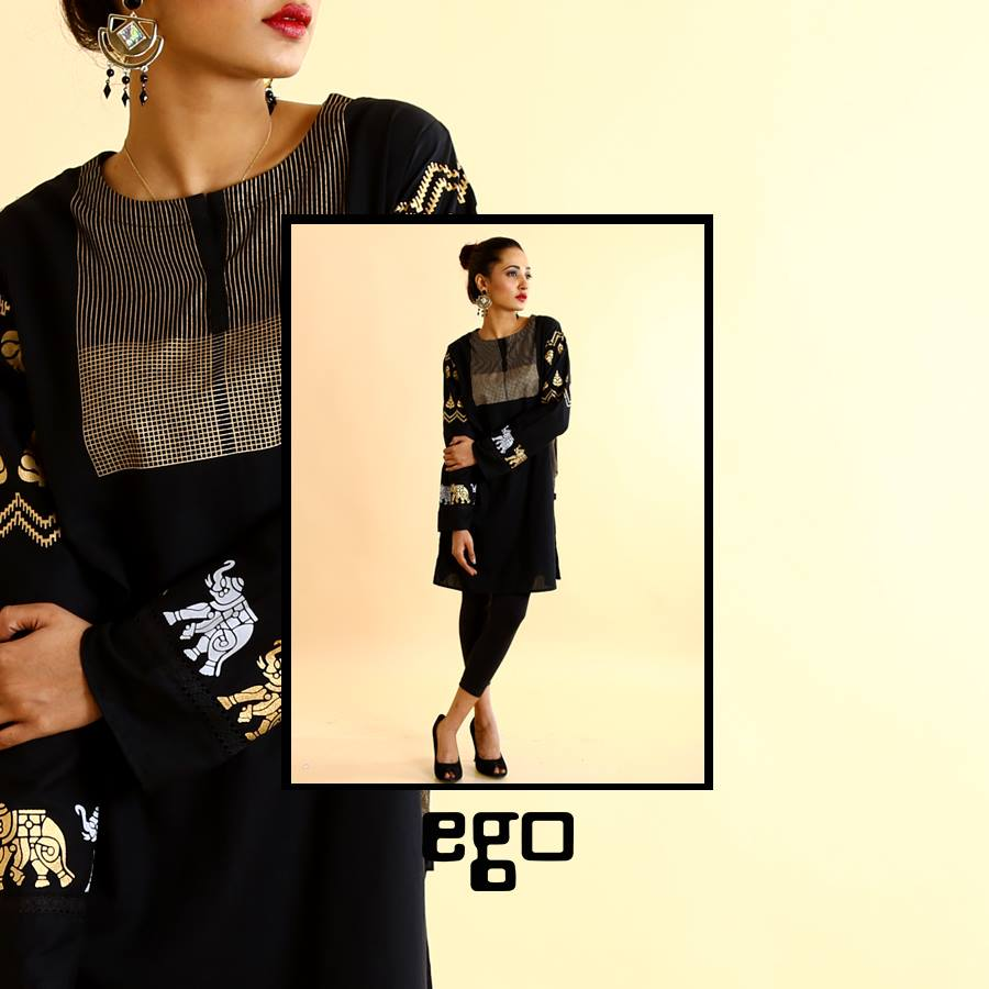Balck Ego Ready to wear for Eid 2017
