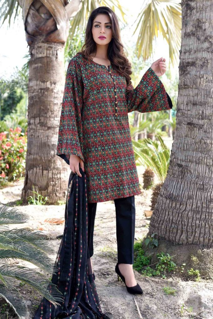 Black Bareeze Embroidered Latest Collection 2017