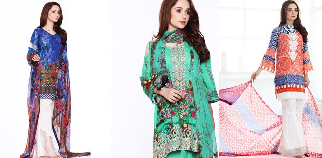 Juggan Kazim Unstitched Lawn Collection 2017 With Price