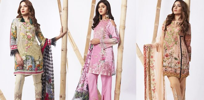 BeechTree Festive Lawn Collection For Eid 2017