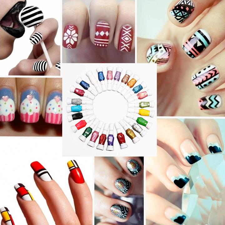 How To Do Nail Art At Home | BestStylo.com