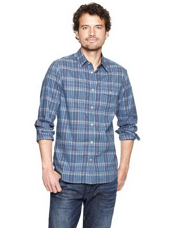 Gap Spring Summer Casual Shirts For Men 2014 Beststylo Com
