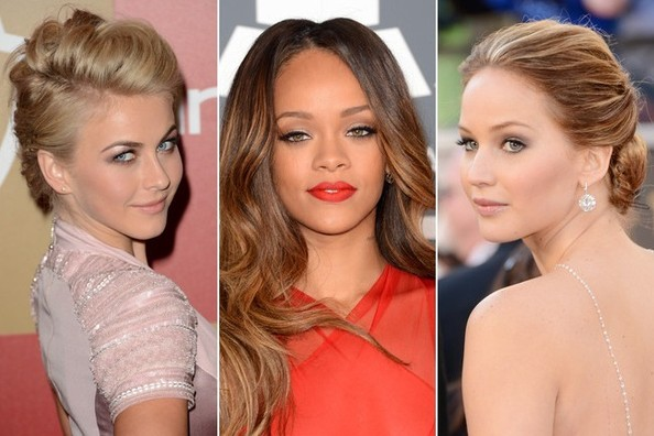 The Most Beautiful & Hottest Updo Celebrity Hairstyles For Prom
