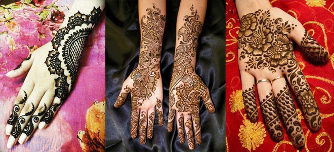 Latest EID Mehndi Designs for Girls 2019