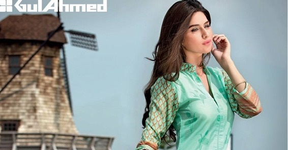 Latest Gul Ahmed Printed Summer Lawn Eid Collection