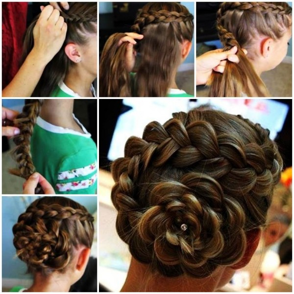 Easy Hairstyles For Eid 2016 2017 Step By Step Tutorials Beststylo