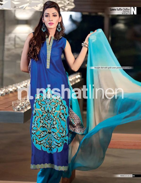 Nishat-Lawn-Ruffle-Chiffon-Eid-Collection-2013-11