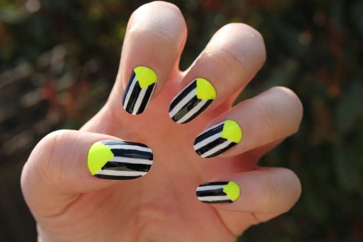 Cool Amp Trendy Neon Nail Art Designs 2014 Beststylo Com