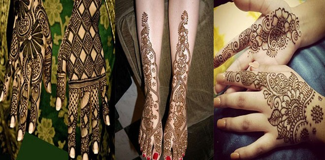 New Arabic Mehndi Designs 2018 for Hands and Feet